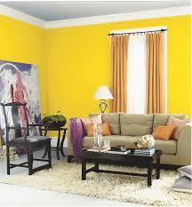 lite yellow with orange bedroom paint home combo