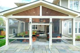Patio Deck Cost by Patio Screened In Porch Under Deck Cost Screened In Patio