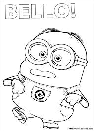 coloriage les minions à colorier dessin à imprimer minions
