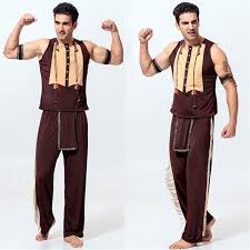 best costumes for men party indian brave warrior