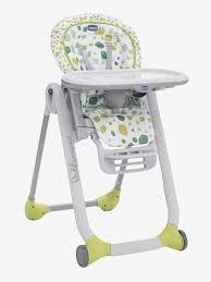 chaise haute évolutive chicco chaise haute évolutive chicco polly progres5 imprimé vert chicco