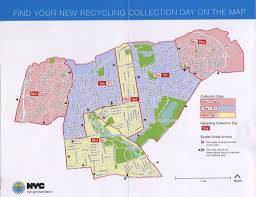 Map Staten Island New Recycling Schedule Coming To Several North Shore Neighborhoods