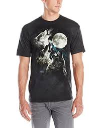 Wolf T Shirt Meme - com the mountain 100 cotton three wolf moon t shirt clothing