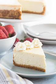 the best baked vanilla cheesecake recipe video