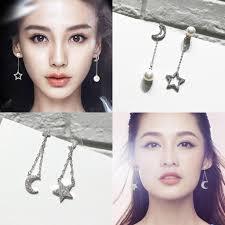 korean earings usd 14 23 angelababy same paragraph s925 sterling silver simple