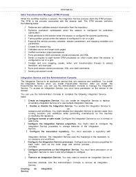 Informatica Sample Resume by Informatica Student Meterial