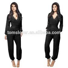 custom jumpsuits 2017 black formal jumpsuits yuanwenjun com