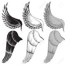 97 830 bird wing stock vector illustration and royalty free bird