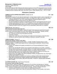 Job Resume Objective Nursing by Construction Safety Manager Resume Free Resume Example And