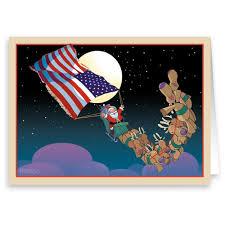 patriotic christmas cards patriotic christmas card 18 cards envelopes