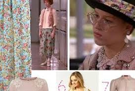 granny chic pretty in pink get the 80s granny chic look paperblog