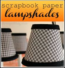 Chandelier Shades Re Cover Chandelier Shades With Scrapbook Paper The V Spot