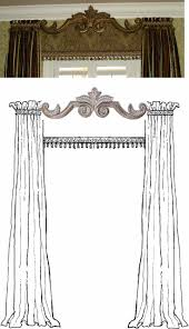 Cornice Valance Window Treatments 231 Best Cornices Images On Pinterest Cornices Cornice Boards