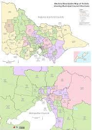 Councils Of Melbourne Map Local Council Maps Electoral Commission