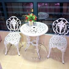 Metal Garden Chairs And Table Metal Bistro Set U2013 Mobiledave Me