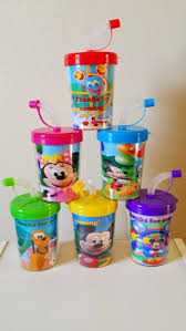 favor cups mickey mouse clubhouse do it yourself party favor cups set of 6