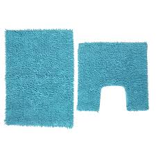 bath mats set wilko pedestal and bath mat set aqua blue at wilko
