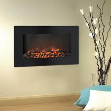 cambridge callisto 30 in wall mount electronic fireplace with