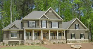 traditional two story house plans shenandoah 5733 4 bedrooms and 3 baths the house designers