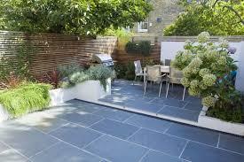 Backyard Concrete Ideas Amazing Small Concrete Backyard Ideas Garden Decors