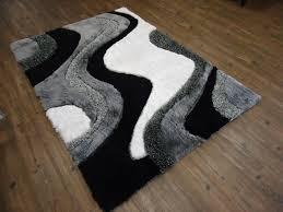 Black White Checkered Rug Black And Grey Rugs Hong Kong Blackgrey Rug Hk 793 Anaelle