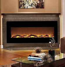 Electric Fireplaces Amazon by Moda Flame Houston 50 Inch Electric Wall Mounted Fireplace Black