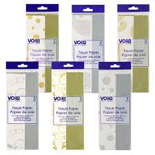 gold foil tissue paper bulk voila foil sted silver and gold tissue paper 5 sheet