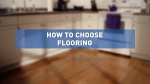 How To Pick Laminate Flooring Color How To Choose Flooring Youtube
