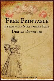 free printable digital stationary page