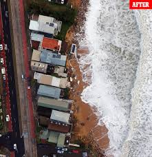 impact of king tides on collaroy properties revealed after sydney