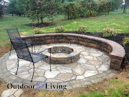 fascinating landscaping ideas around fire pit images design ideas
