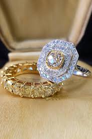 deco wedding rings deco engagement rings for fantastic look oh so