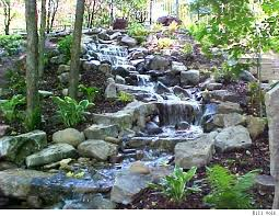 Aquascape Pondless Waterfall Kit Pondless Waterfall Feature Completely Shaded And Natural Looking