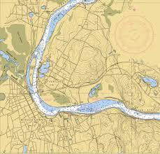 Zip Code Map Portland Connecticut River Cruising New England Boating U0026 Fishing