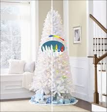 ge tree amazing 7 5 white flocked vermont