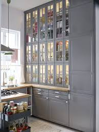 Floor To Ceiling Cabinets For Kitchen Ikea Kitchen Ideas I Like All The Storage From Floor To Ceiling