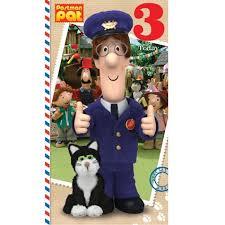 postman pat age 4 birthday card danilo