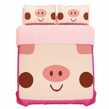 Bedding Sets For Girls Print by Amazon Com Kpblis174 Pink Pig Print Cartoon Bedding Sets For