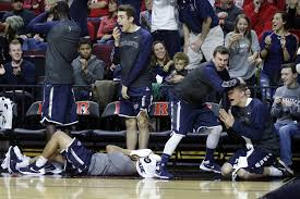 basketball player on bench shtick on the sidelines college basketball s most famous bench npr