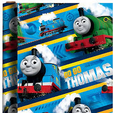 thomas tank engine gift wrap pc00361 fisher price