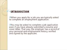 Resume And Job Application by Job Application