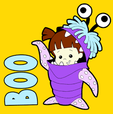 draw boo monsters easy step step drawing