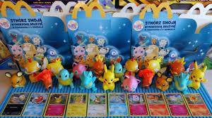 new 2016 pokémon happy meal mcdonald s figures holo cards series
