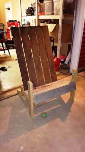 How To Build An Armchair Pallet Outdoor Chair Inspired Of Adirondack Chairs 101 Pallet