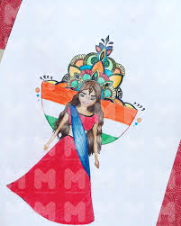 indian culture drawing by nouran abdelghany reda markedshot