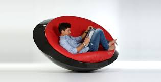 neat u f o chair design makes you want to chill