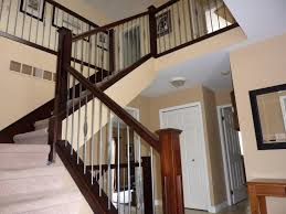 Staircase Banister Stair Indoor Banister Metal Handrails Modern Stair Railings