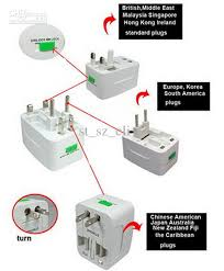 travel adaptor images Multi travel adaptor adapter plug 4 in 1 universal worldwide use jpg