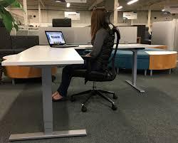 Desks L Shape L Shape Adjustable Height Desk Available Arnold S