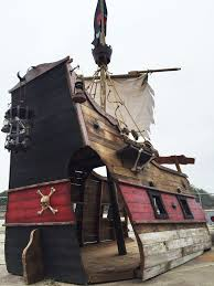 Playhouses For Backyard by Ahoy Me Mateys Get A Pirate Ship Playhouse For Your Backyard